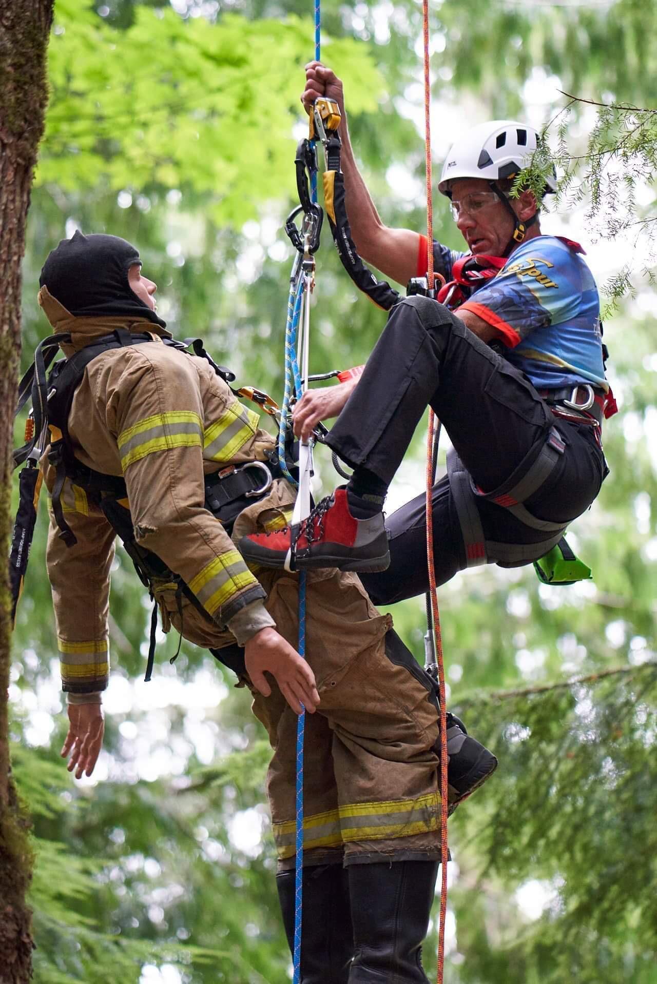 Aerial Rescue Photo