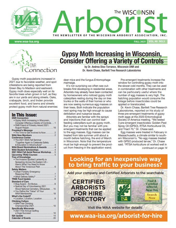 2021 Fall Newsletter Cover